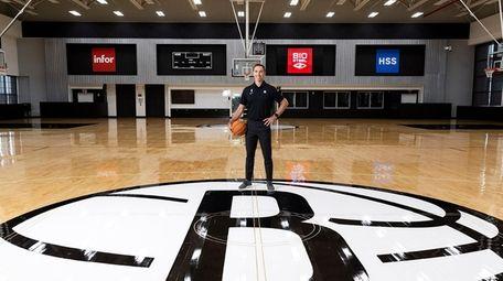 Nets coach Steve Nash poses for portraits on