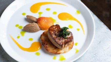 The Hudson Valley foie gras served at Mirabelle