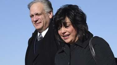 Former Nassau County Executive Edward Mangano and his