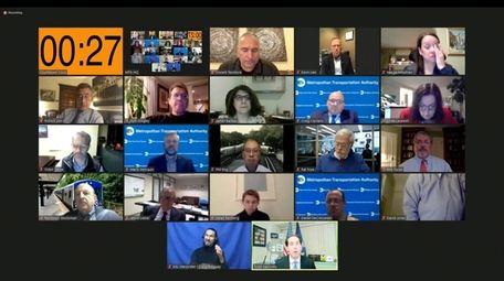 Virtual public hearing on the proposed MTA fare
