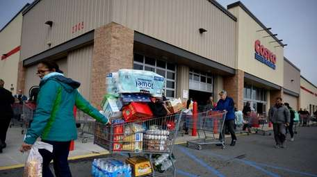 Costco is among those companies expected to report