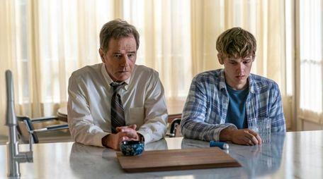 (L-R): Bryan Cranston as Michael Desiato and Hunter
