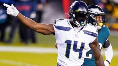 The Giants are hoping Seahawks' DK Metcalf won't
