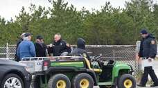 Suffolk police responded after a report at about