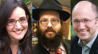 From left, Rabbi Jaimee Shalhevet of North Shore
