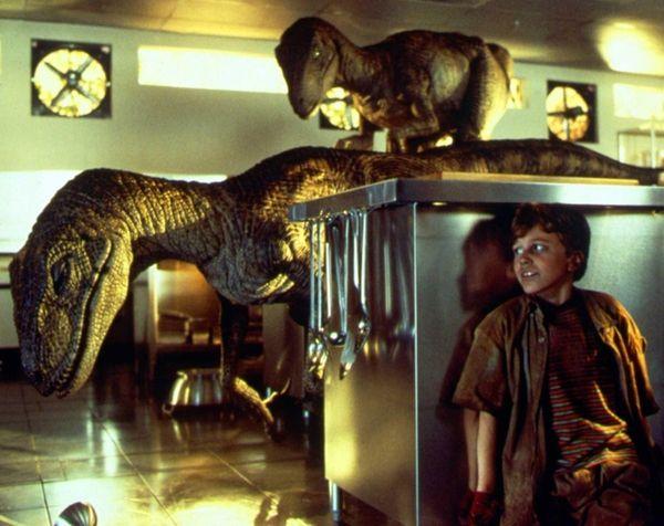 """Joseph Mazzello in Steven Spielberg's """"Jurassic Park,"""" coming"""