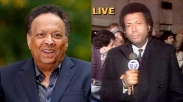 Former WABC/7 reporter John Johnson is seen today