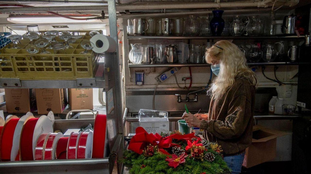 The family-ownedDuryea's Flower Shop in Freeport was destroyed