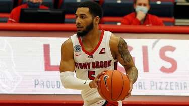 Juan Felix Rodriguez of the Stony Brook Seawolves