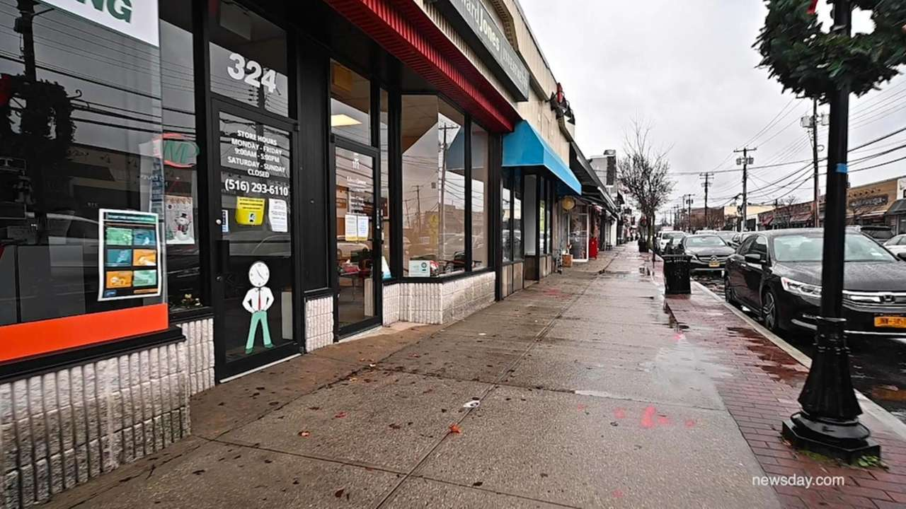 Across Long Island small businesses have shut down