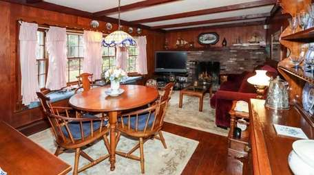 While most rooms are carpeted, there are hardwood