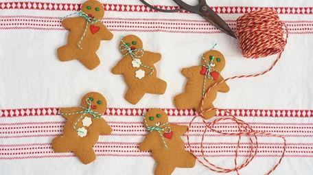 Classic mini gingerbread men.