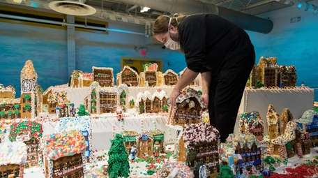 Jon Lovitch, artist and creator of GingerBread Lane,