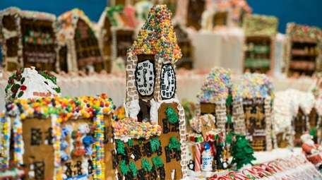 GingerBread Lane, by Jon Lovitch, is on display