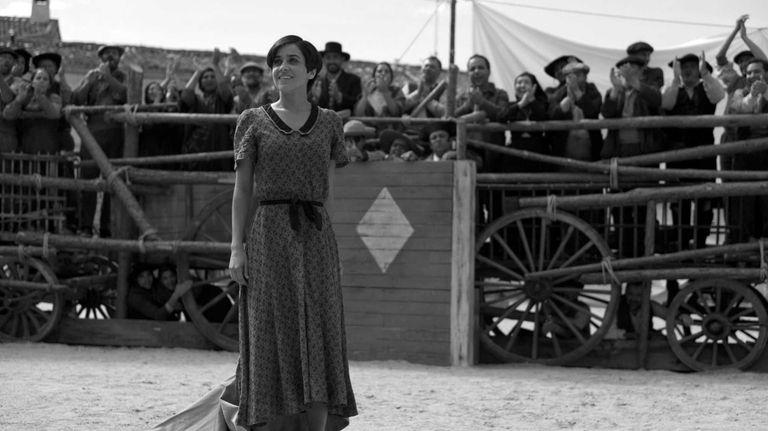 Macarena Garcia as Carmen in Pablo Berger's