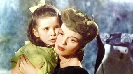 Margaret O'Brien, left, and Judy Garland star in