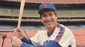 New York Mets' catcher Gary Carter is seen