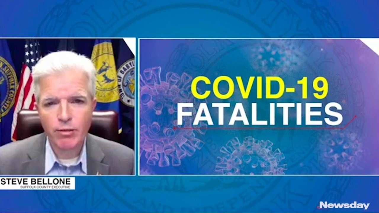 Suffolk County saw more fatalities from COVID-19 in