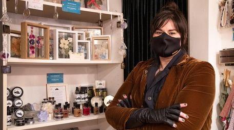 Amanda Clary, owner of Mastic-based Three Headed Cat,