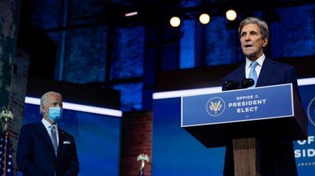 President-elect Joe Biden's climate envoy nominee former Secretary