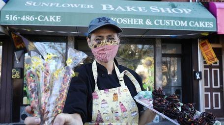 Elana Schondorf, owner of The Sunflower Bakeshop in