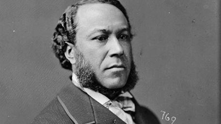 A portrait of Joseph Rainey, the first Black