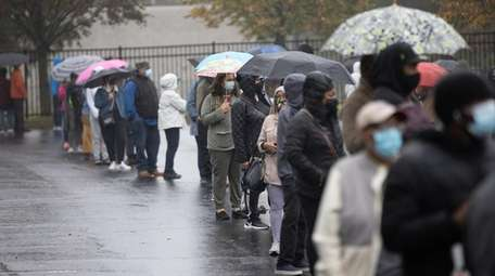 Voters turn out for early voting despite the