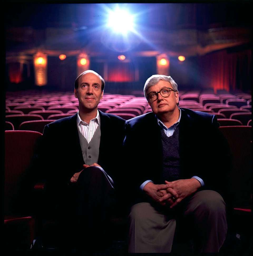 Movie critics Roger Ebert, right, and Gene Siskel.