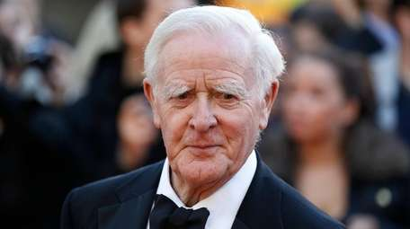 File photo shows British author John Le Carre