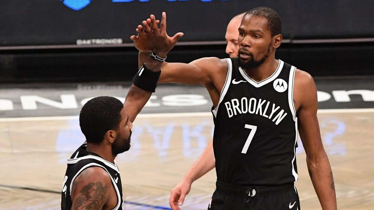 It's almost show time for the Nets' Kevin Durant-Kyrie Irving combination |  Newsday
