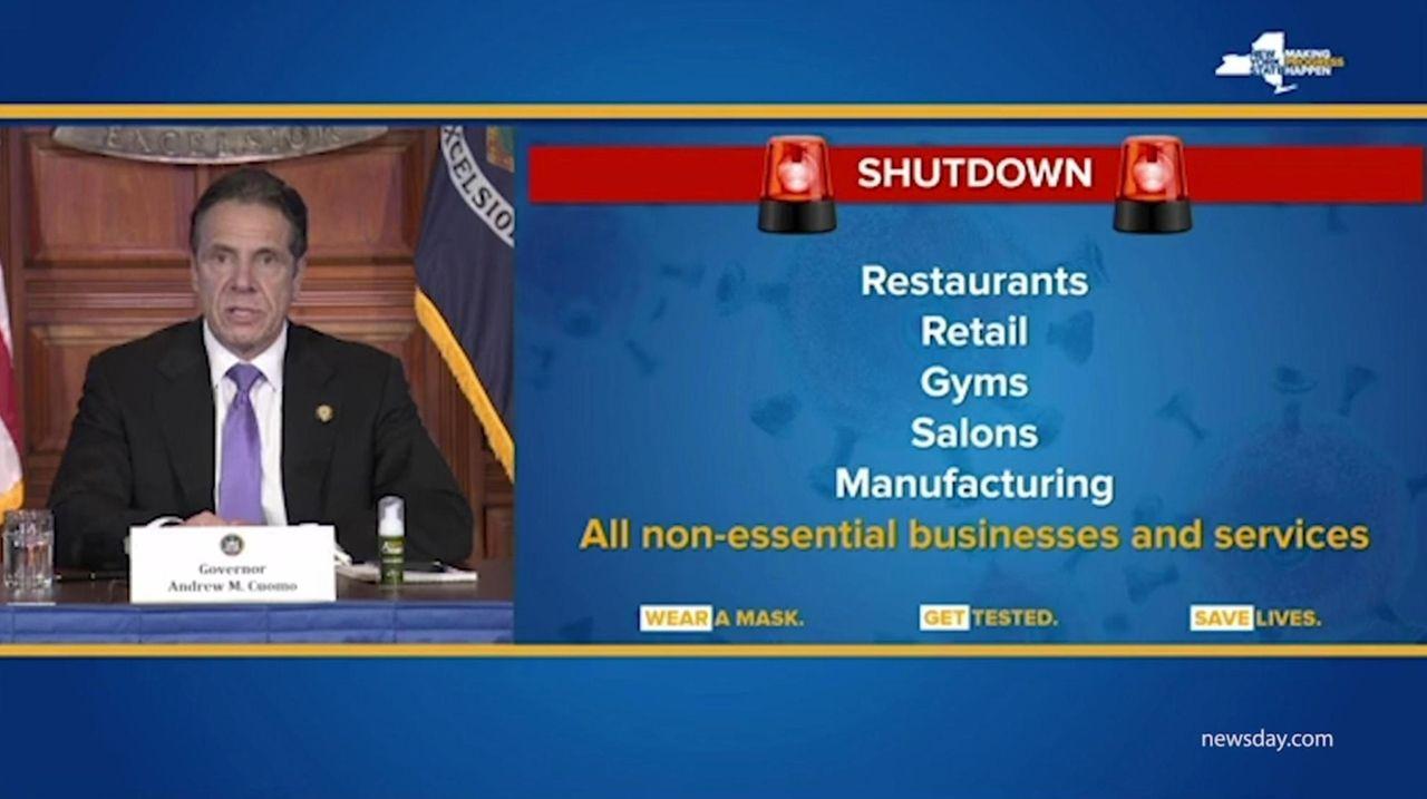 New York Gov. Andrew M. Cuomo said he