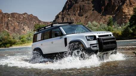 The 2021 Land Rover Defender offers a host