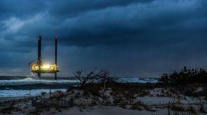 The Laredo Brazos lift boat operating in the