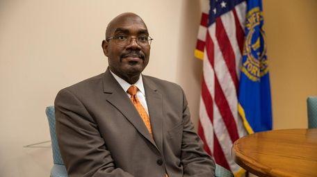 Suffolk County Health Commissioner Dr. Gregson Pigott.