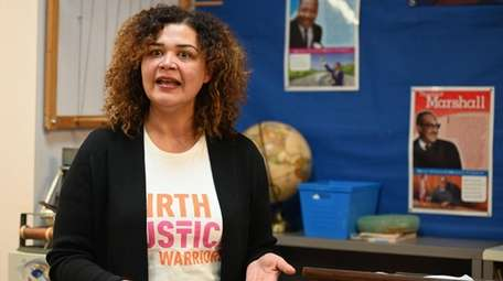 Dr. Martine Hackett, co-founder of Birth Justice Warriors,