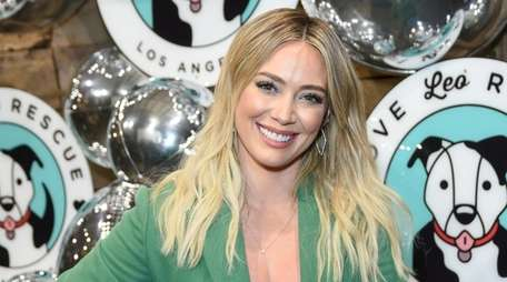 Hilary Duff was set to play an adult