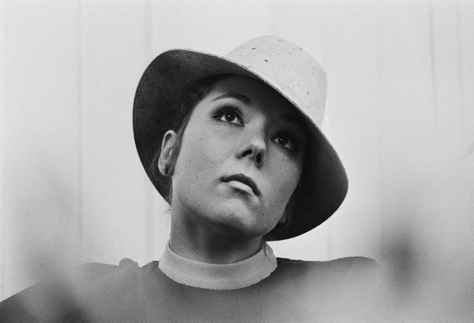 English actress Diana Rigg, UK, 14th March 1969.