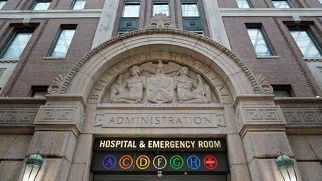 Bellevue Hospital in Manhattan.