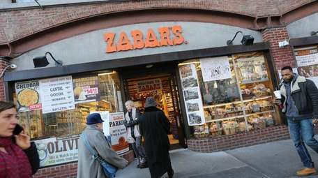 Zabar's on the Upper West Side as seen