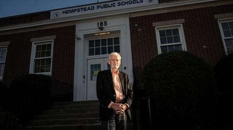 Bill Johnson, the state-appointed monitor for the Hempstead