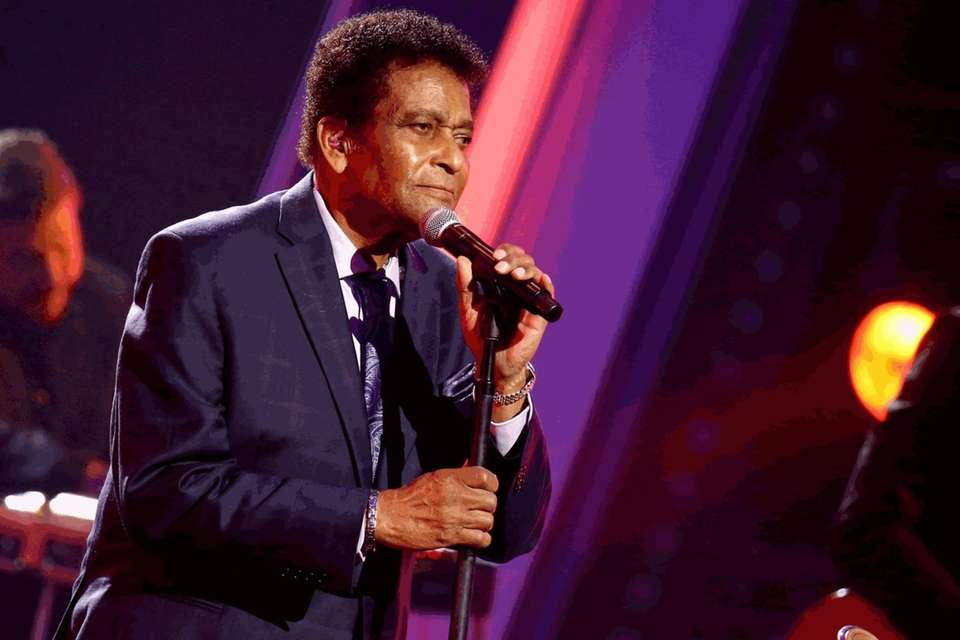 Charley Pride performs onstage during the CMA Awards
