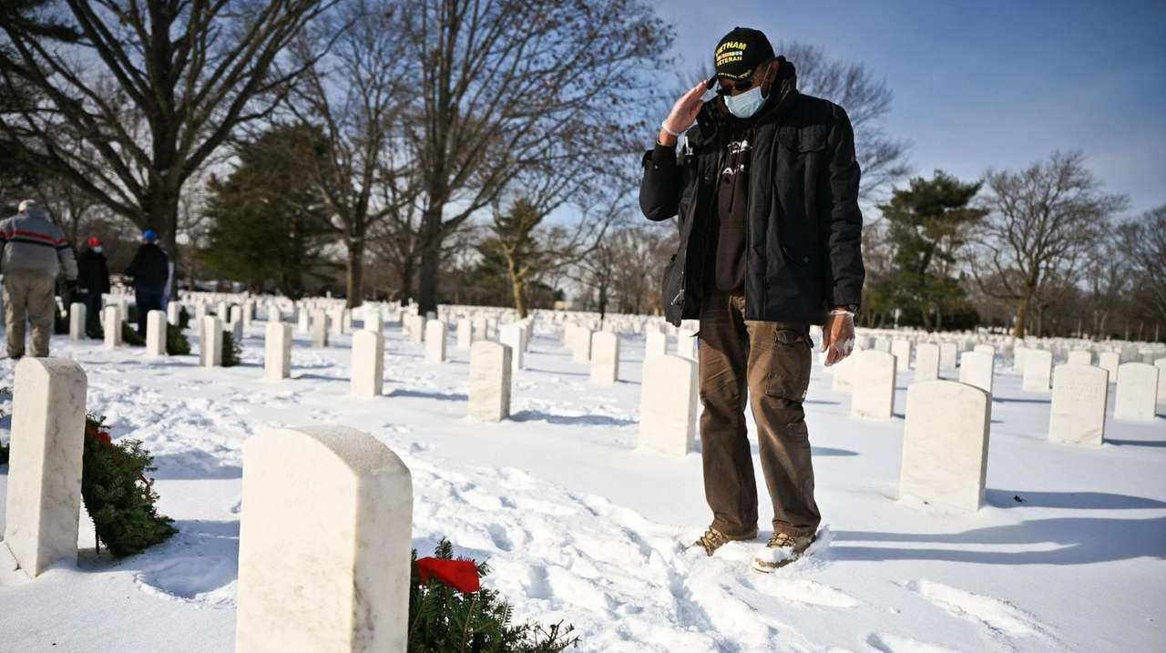 As part of the annualNational Wreaths Across America