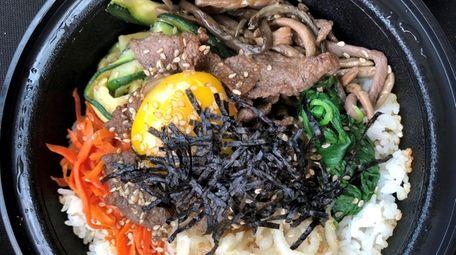 Dolsot bibimbap from Food Court Korea in Albertson