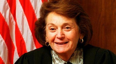 Nassau County Judge Elaine Jackson Stack in 1998.