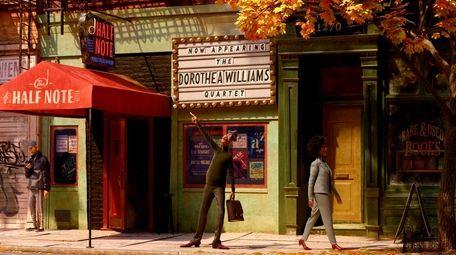 Pixar Animation Studios' all-new feature film
