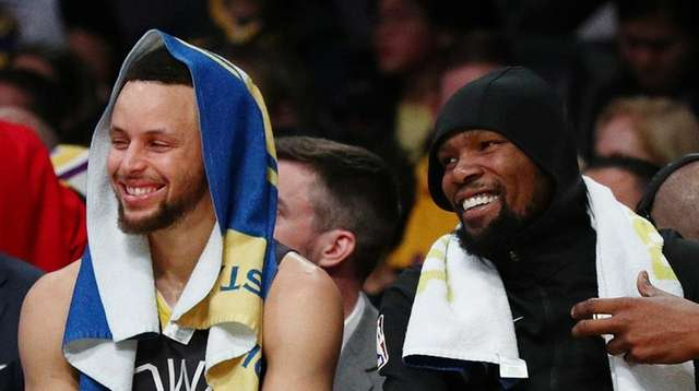 Steph Curry, Steve Kerr looking forward to seeing a healthy Kevin Durant |  Newsday