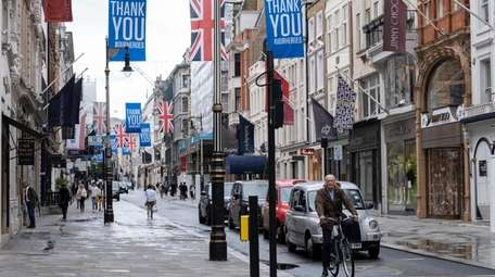 Bond Street in London, England is typically one