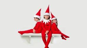 Siblings Alexander James Tavolario, 5, Jackson, 9, and