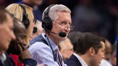 Mike Breen calls the 76ers-Celtics game at the