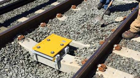 Transponders for use with the LIRR's PTC system